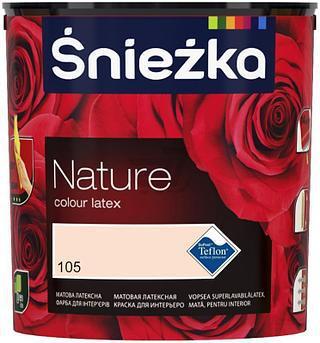 Фарба латексна водоемульсійна Sniezka NATURE 2,5 L  В кольорі  Інтер'єр/ внутрішні