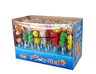 Желейная конфета Смайл Jelly Stick 48 шт (Prestige)