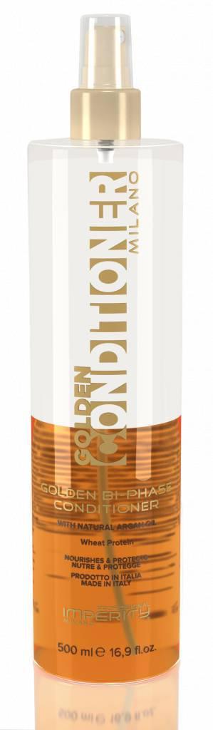 Кондиционер для волос Imperity Milano двухфазный спрей с аргановым маслом 500мл