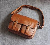 Мужская кожаная сумка. Модель 63239, фото 7
