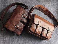 Мужская кожаная сумка. Модель 63239, фото 8