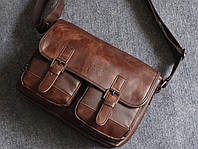 Мужская кожаная сумка. Модель 63239, фото 9