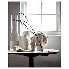 ТИДВАТТЕН Ваза, прозрачное стекло, 18 см 30335997 IKEA, ИКЕА, TIDVATTEN, фото 2