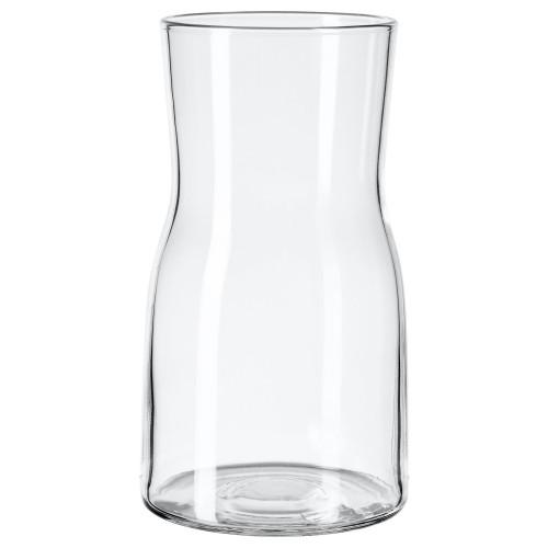 ТИДВАТТЕН Ваза, прозрачное стекло, 18 см 30335997 IKEA, ИКЕА, TIDVATTEN