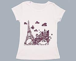 "Футболка для девочки ""Париж"""