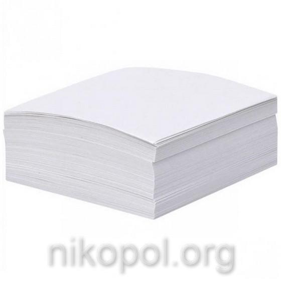 Папір для нотаток 200 аркушів, блок 80х80мм