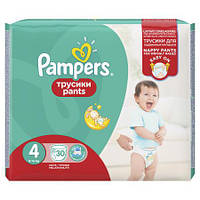 Подгузники-трусики Pampers Pants р.4 (8-14 кг) 30 шт