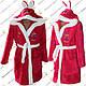 Детские махровые халаты для мальчика и девочки от 4 до 9 лет, фото 4