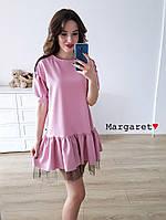 Нарядное платьице свободного кроя Margaret♥