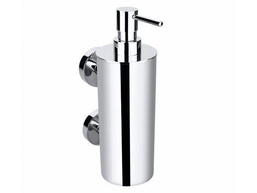 BEMETA OMEGA: Настенный дозатор для жидкого мыла (Большой металлический стакан)
