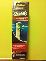 Насадка на зубную щетку Oral-B FLOSS ACTION EB25-3