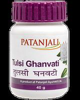 Тулси Гханвати жар, простуда, кашель Патанджали 40 гр (Tulsi Ghanvati Patanjali)