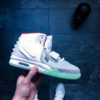 28d30350 Nike Air Yeezy 2 Wolf Grey — Купить Недорого у Проверенных Продавцов ...