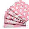 Набор тканей (Ткань) Розовые оттенки для Пэчворка 40x50 см 5 шт