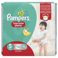 Подгузники-трусики Pampers Pants р.5 (11-18 кг) 28 шт