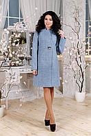 Элегантное демисезонное женское пальто  44-54 размеров, фото 1