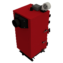 Твердопаливний котел ALtep DUO PLUS 62 кВт, фото 2