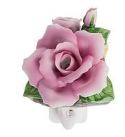 Фарфоровый арома-ночник (светильник) Роза Pavone CMS - 16/ 1