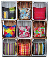 Садовые подушки декор Allibert Corfu Curver fiesta 40x40 см в цветах, фото 1