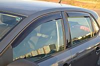 Дефлекторы окон ветровики на VOLKSWAGEN Фольксваген VW Polo V Hb 5d 2010