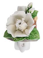 Фарфоровый арома-ночник (светильник) Гардения Pavone CMS - 16/ 2