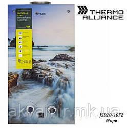 Колонка газовая Thermo Alliance JSD20-10F2 10 л стекло (море)