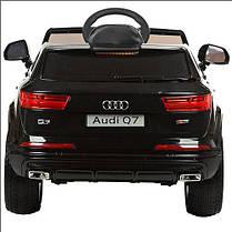 Детский электромобиль Audi Q7 M 3231 EBLR черный, фото 3