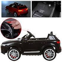 Детский электромобиль Audi Q7 M 3231 EBLR черный, фото 2