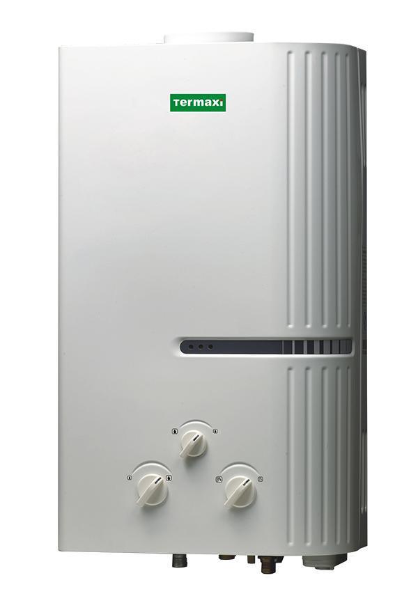 Газова колонка TERMAXI JSD-14L біла на 7 л/хв