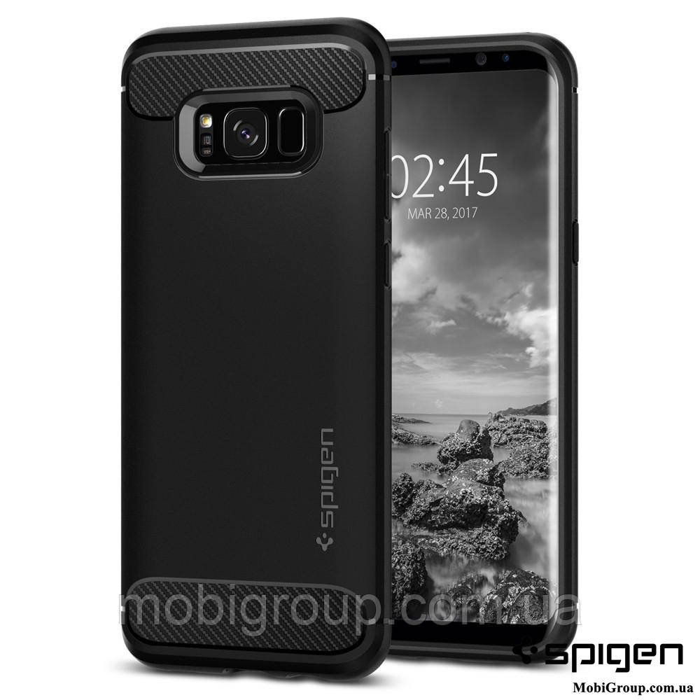 Чехол Spigen для Samsung S8 Plus Rugged Armor, фото 1