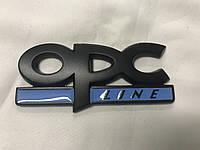 Opel Astra J 2010+ гг. Металический шильдик OPC Line (Черный)