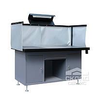 Стол сварщика (ССВ-1600) 850(h)х1600х820 мм