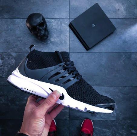 e31be46b Кроссовки в Стиле Nike Air Presto Ultra Flyknit Black Мужские — в Категории
