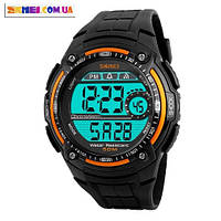 Электронные наручные часы Skmei 1203 (Orange)