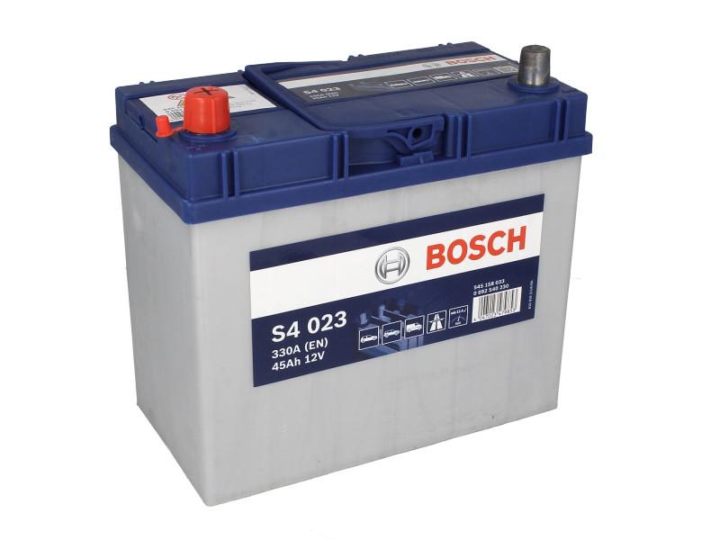 Аккумулятор Bosch S4 45Ah EN330A L+ Asia (S4023)