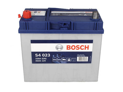 Аккумулятор Bosch S4 45Ah EN330A L+ Asia (S4023), фото 2