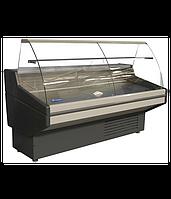 Витрина холодильная гнутое стекло UBC NIKA 1.2