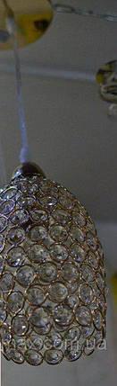 Люстра, золото, 1 лампа, фото 2