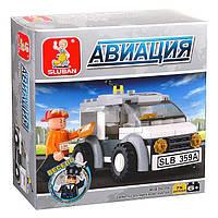"Детский развивающий конструктор игрушка  SLUBAN (Слубан) M38-B0359 ""Авиация"", техника,конструктор лего-типа"