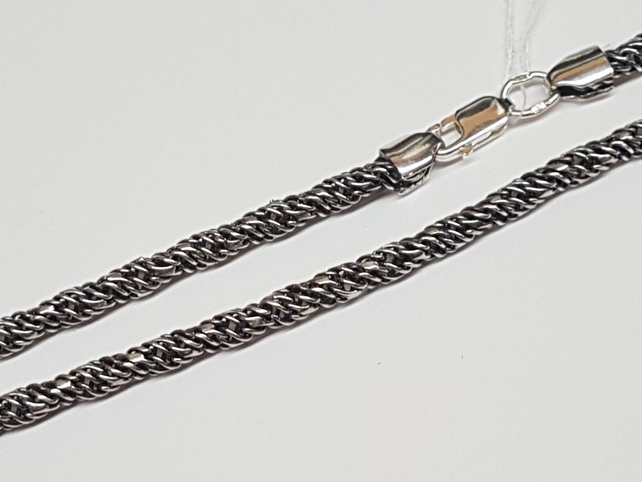 Серебряная цепочка (Свирель). Артикул 1148-ч 55