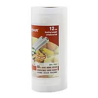 Рулон вакуумной пленки 12*500 см TINTON Вакуумная упаковка гофрированный