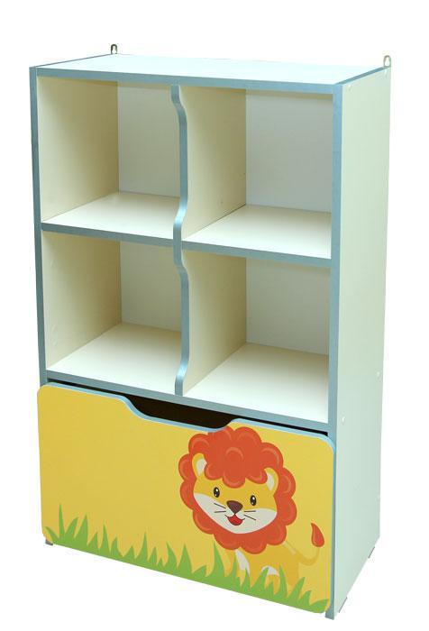 Стенка для игрушек Зверята №8 (600*300*950h)