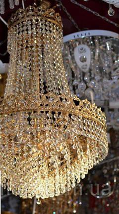 Люстра хрустальная, потолок, подвесная, очень красивая люстра, висота 90 ширина 47, фото 2