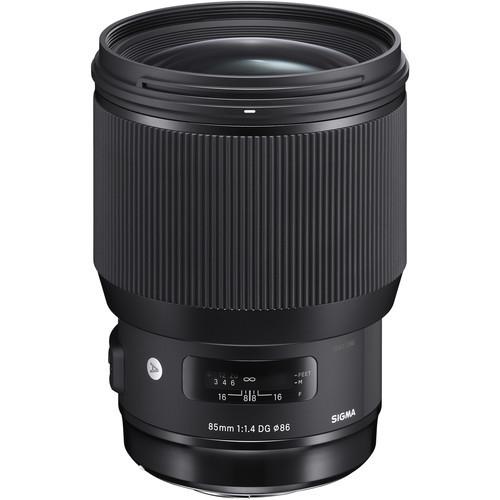 Объектив Sigma 85mm f1.4 DG HSM Art Lens for Canon EF (321954)
