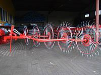 Грабли ворошилки Wirax (Солнышко 5 колес) Польша, фото 1