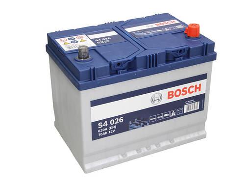 Аккумулятор Bosch S4 70Ah EN630A R+ Asia (S4026), фото 2