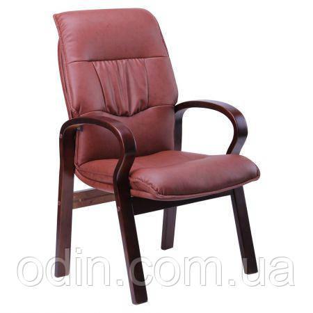 Кресло Лондон CF, кожзам коричневый (625-D Brown PU+PVC) 031185