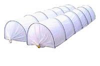 Парник АГРО-ЛИДЕР 10 м, плотность 50 г/м2, мини теплица из агроволокна