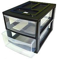 Профессиональный органайзер для бумаги Desktop 38*27*26см (на 2 лотка А4)