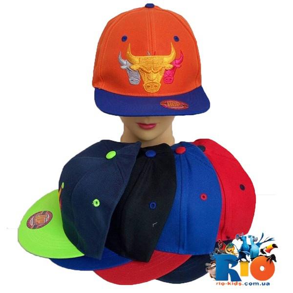 Детская кепка Рэп, для мальчика р-р 54 (5 ед в уп)